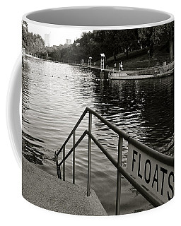 Barton Springs Pool In Austin Coffee Mug