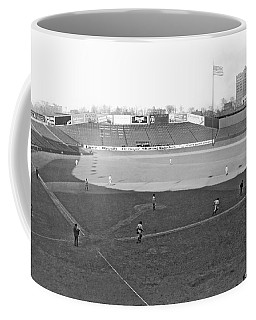 Baseball At Yankee Stadium Coffee Mug