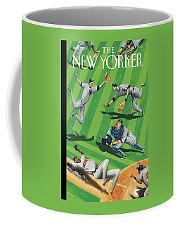 Baseball Ballet Coffee Mug