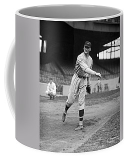 Baseball Star Walter Johnson Coffee Mug