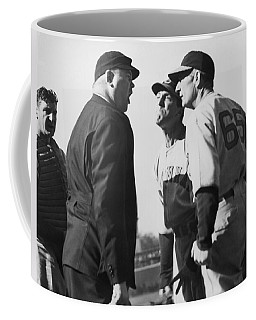 Baseball Umpire Dispute Coffee Mug