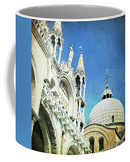 Coffee Mug featuring the photograph Basilica Di San Marco - Venice by Lisa Parrish