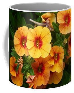 Basket Flowers Coffee Mug