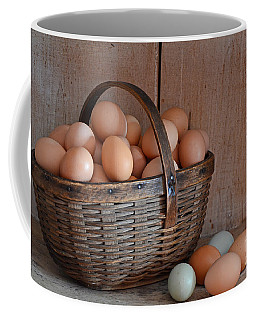 Basket Full Of Eggs Coffee Mug