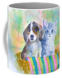 Basket Full Of Love Coffee Mug