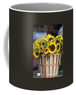 Coffee Mug featuring the photograph Basket Of Sunshine by Chrisann Ellis