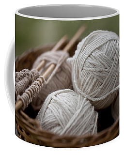 Basket Of Yarn Coffee Mug