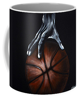 Basketball Legend Coffee Mug by Dani Abbott