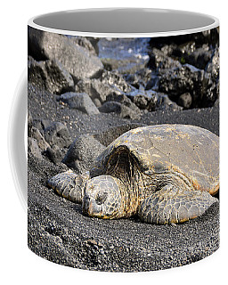 Basking In The Sun Coffee Mug by David Lawson