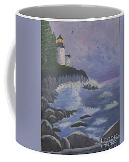 Bass Harbor Coffee Mug by Catherine Swerediuk