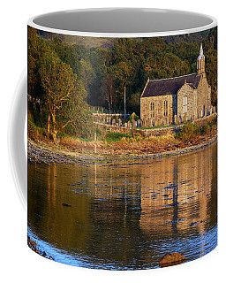 Coffee Mug featuring the photograph Bathed In Gods Light by Wendy Wilton