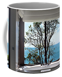 Bathroom With A View Coffee Mug