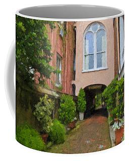 Battery Carriage House Inn Alley Coffee Mug