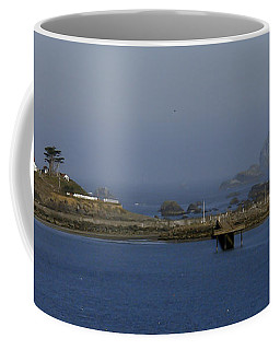 Battery Point Lighthouse And Castle Rock Coffee Mug