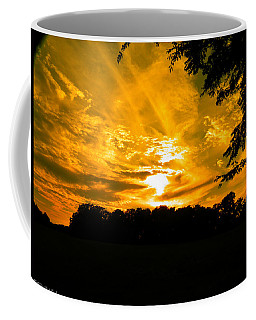 Battle Of The Clouds Coffee Mug