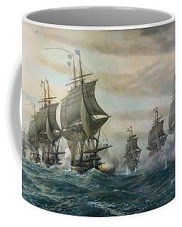 Battle Of Virginia Capes Coffee Mug