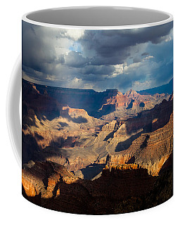 Battleship Rock In The Shadows Coffee Mug