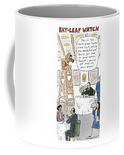 Bay-leaf Watch 'you Coffee Mug