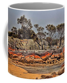 Coffee Mug featuring the photograph Bay Of Fires 2 by Wallaroo Images