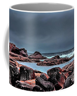 Coffee Mug featuring the photograph Bay Of Fires 3 by Wallaroo Images