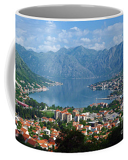 Bay Of Kotor - Montenegro Coffee Mug