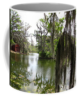 Coffee Mug featuring the photograph Bayou by Beth Vincent