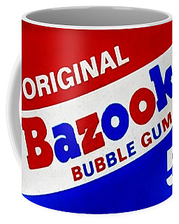 Bazooka Bubble Gum  Coffee Mug