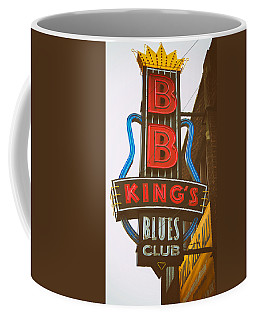 Coffee Mug featuring the photograph Bb King's Blues Club by Mary Lee Dereske