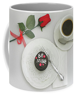 Coffee Mug featuring the photograph Be Mine by Sandi OReilly