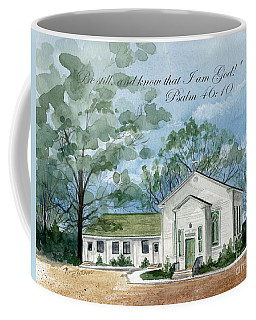 Be Still And Know  Coffee Mug by Nancy Patterson