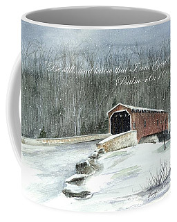 Be Still By The Bridge  Coffee Mug by Nancy Patterson