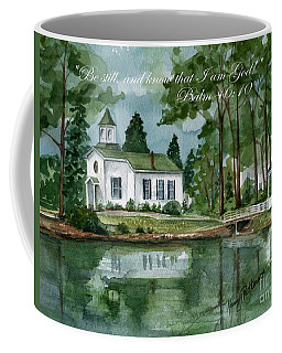 Be Still Coffee Mug by Nancy Patterson
