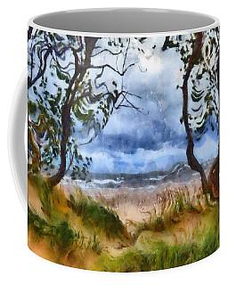 Beach And Trees Coffee Mug