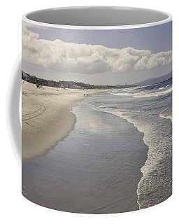 Beach At Santa Monica Coffee Mug