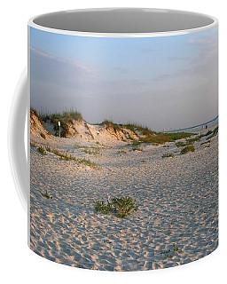 Beach At Sunrise Coffee Mug