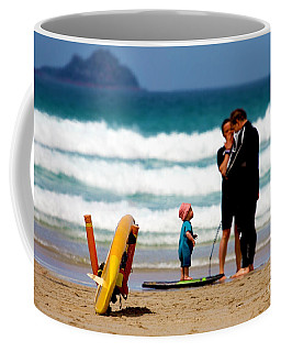 Beach Baby Coffee Mug by Terri Waters