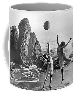 Beach Ball Dancing Coffee Mug