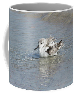 Beach Bird Bath 4 Coffee Mug
