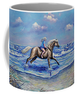 Beach Blonde Running Mates Coffee Mug