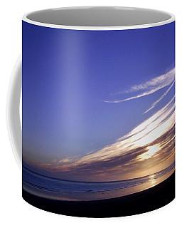 Beach Blue Sunset Coffee Mug
