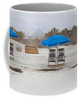 Beach Chairs  Coffee Mug