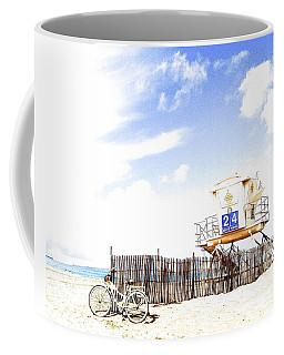 Coffee Mug featuring the photograph Beach Cruiser by Margie Amberge