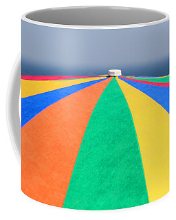 Coffee Mug featuring the photograph Beach Day by Adrian LaRoque