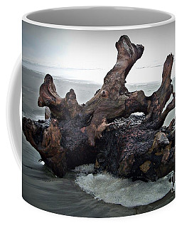 Beach Driftwood In Color Coffee Mug