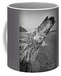 Beach Driftwood View Coffee Mug