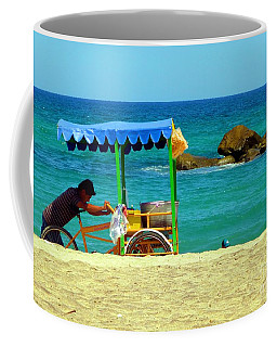 Beach Entrepreneur In San Jose Del Cabo Coffee Mug