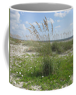 Beach Flowers And Oats 2 Coffee Mug
