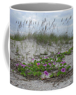 Beach Flowers Coffee Mug