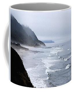 Beach Frontage In Monet Coffee Mug