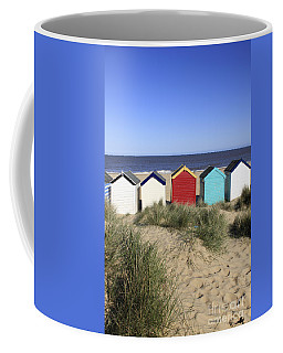 Southwold Beach Huts Uk Coffee Mug